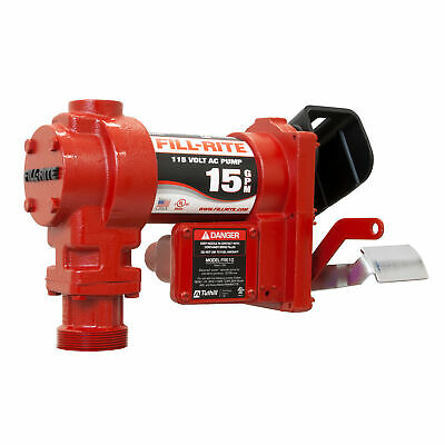Fill-rite Fr604g Self-priming Cast Iron 115-volt Ac Fuel Pump And Elbow Only