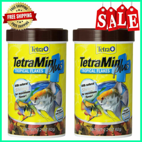 TetraMin Nutritionally Balanced Tropical Flake Food for Tropical Fish 2pack