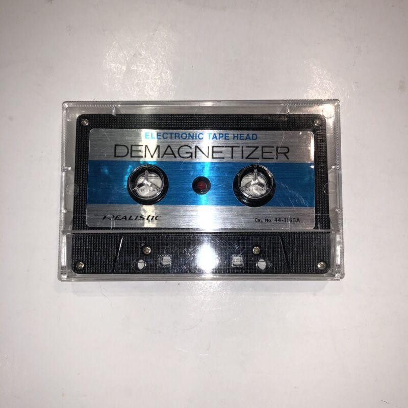 Realistic Tape Head Demagnetizer Cat. No. 44-1165A Original Vintage