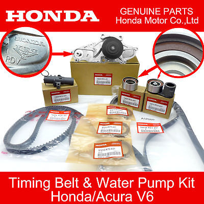 Genuine Honda Timing Belt Kit with Water Pump HONDAACURA Accord Odyssey V6 OEM