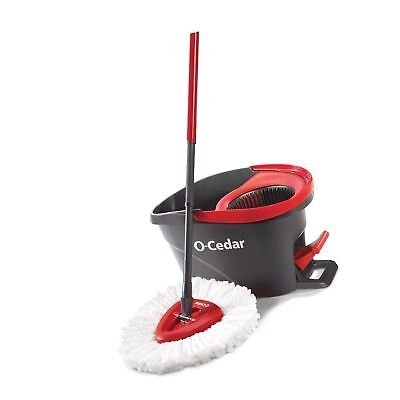 O Cedar Easy Wring Spin Mop And Bucket System Frustration Free Packaging