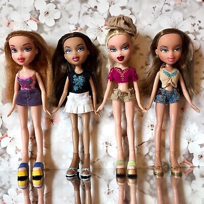 Bratz Doll Bundle Nitey Nite Meygan Funk Out Nevra Step Out Cloe Summer Fianna