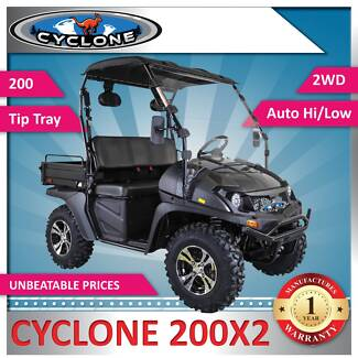 NEW Cyclone 200X2 SIDE BY SIDE OFF ROAD UTILITY VEHICLE ATV UTV Riverwood Canterbury Area Preview