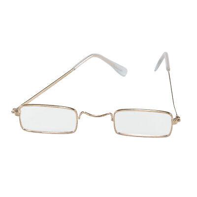 Quadrat Specticals Alter Mann Alt Damen Brille Erwachsene Kostüm Zubehör - Alter Mann Brille Kostüm