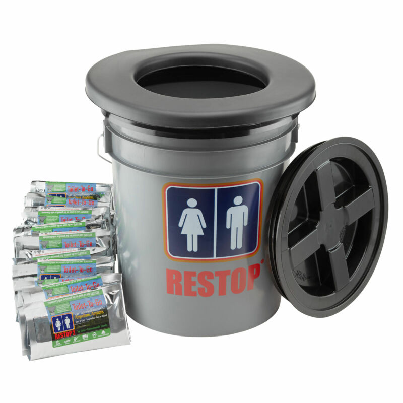 Restop Portable Commode with Bags