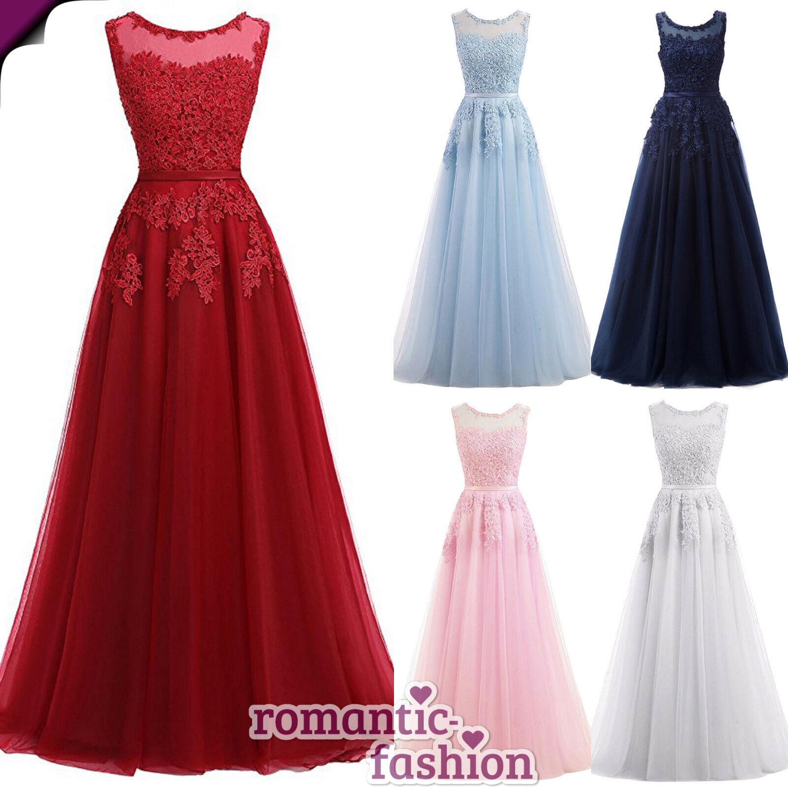 ♥Abendkleid Ballkleid Hochzeitkleid Brautkleid Größe 34-54 und 8 Farben+NEU♥