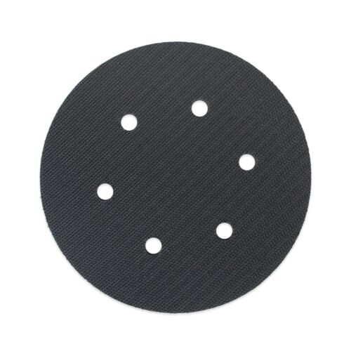 "TGR 6"" Soft Interface Pad 6 Hole Vacuum - Hook and Loop"