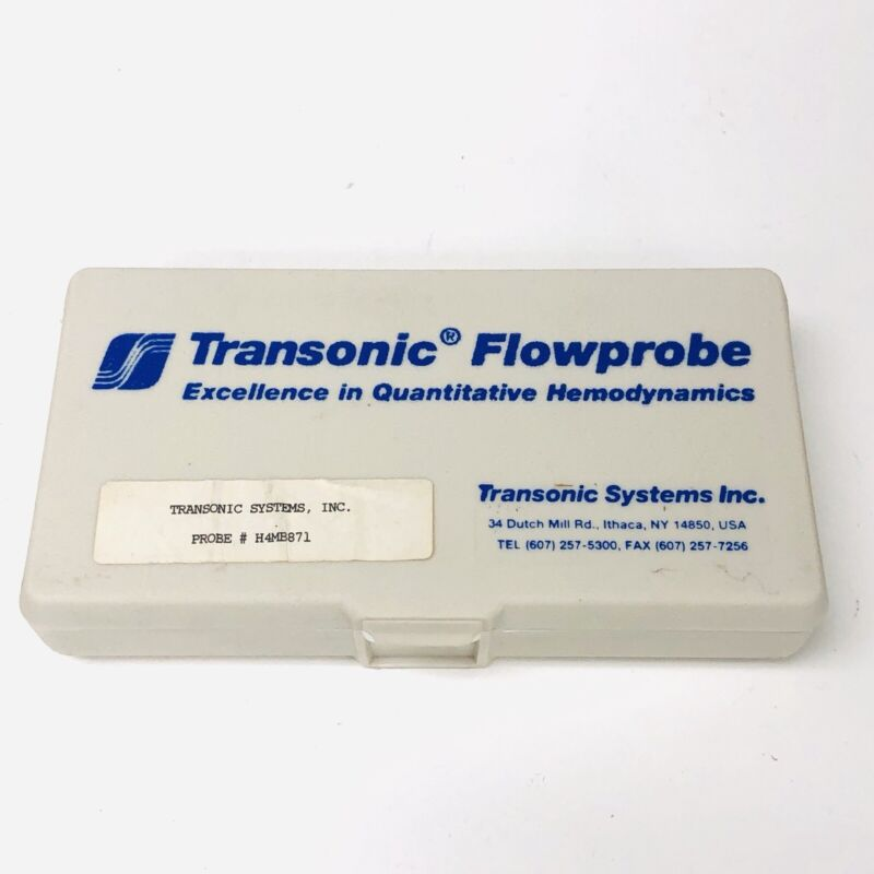 Transonic System Inc Flowprobe 4mm