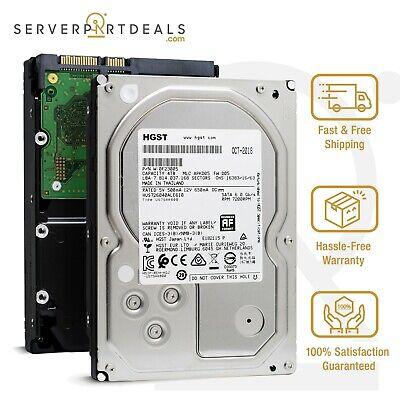 HGST HUS726040ALE610 0F23005 4TB 7.2K RPM 512e SATA 6G 128MB 3.5