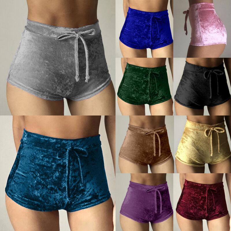 Damen Sexy Shorts Hotpants Sommerhose Party Clubwear Sport Caprihose Kurze Hosen