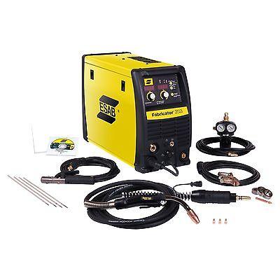 Esab Fabricator 252i Mig Tig Stick Welder W1004401