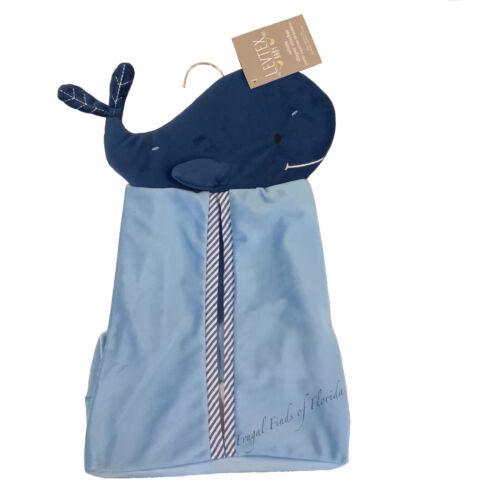 LEVTEX Baby Hanging Diaper Clothing Nursery Organizer Storage Blue Whale