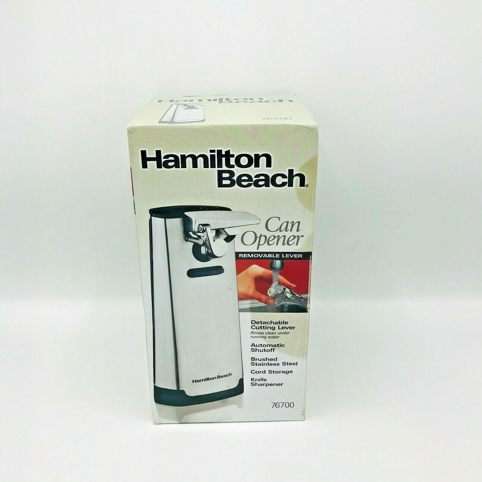 Hamilton Beach 76700 Electric Extra Tall Can Opener Knife Sh