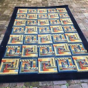 Colourful Abstract Carpet 300cmx200cm