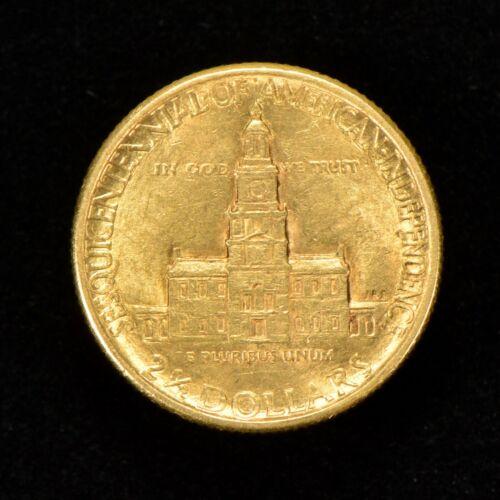 1926 G$2.50 AMERICAN SESQUICENTENNIAL COMMEMORATIVE GOLD QUARTER EAGLE LOT#Z118