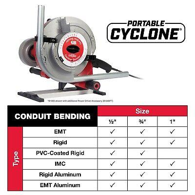 Gardner Bender Gb Cyclone B-1000 Conduit Pipe Bender 555 854 855 Pvc Coated New