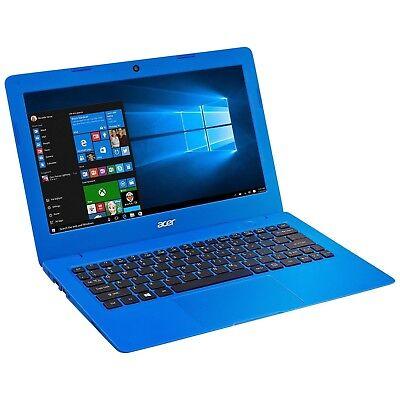 Acer Aspire One Cloudbook, 11-Inch HD, 32GB, Windows 10, Blue (AO1-131-C620) ...