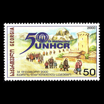 Georgia 2000 - 50th Anniv. of the UN High Commissioner for Refugees - Sc 257 MNH