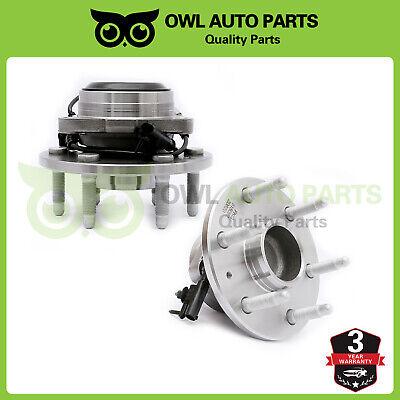 Front Wheel Bearing & Hub For 07-13 Chevy Silverado GMC Sierra Escalade 1500 2WD