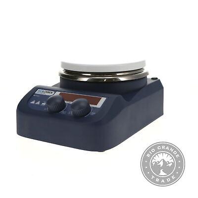 Used Scilogex Circular-top Digital Magnetic Hotplate Stirrer In Blue - 5.3