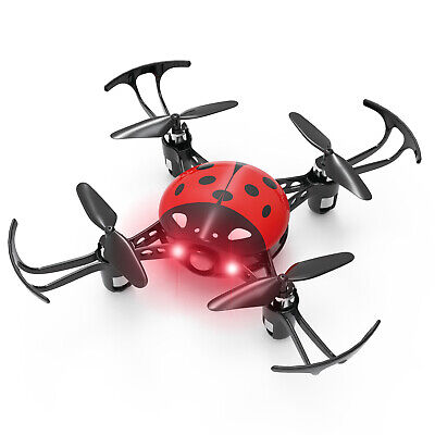 SYMA X27 Mini RC Drone Quadcopter Drone Headless Mode Altitude Hold for Kids Red