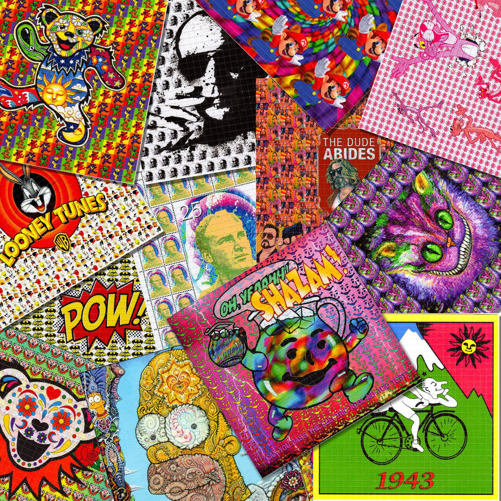 10 BLOTTER ART WHOLESALE PRICE YOU CHOOSE  Acid Free art