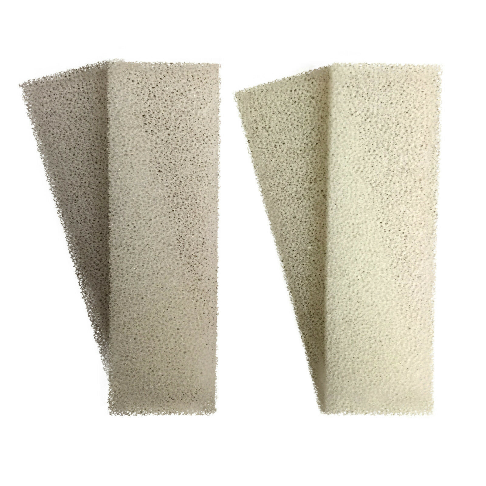 Finest-Filters 12 x Compatible Foam and 12 x Compatible Polycarbon Carbon Filter Cartridges to Fit Fluval U2 Internal
