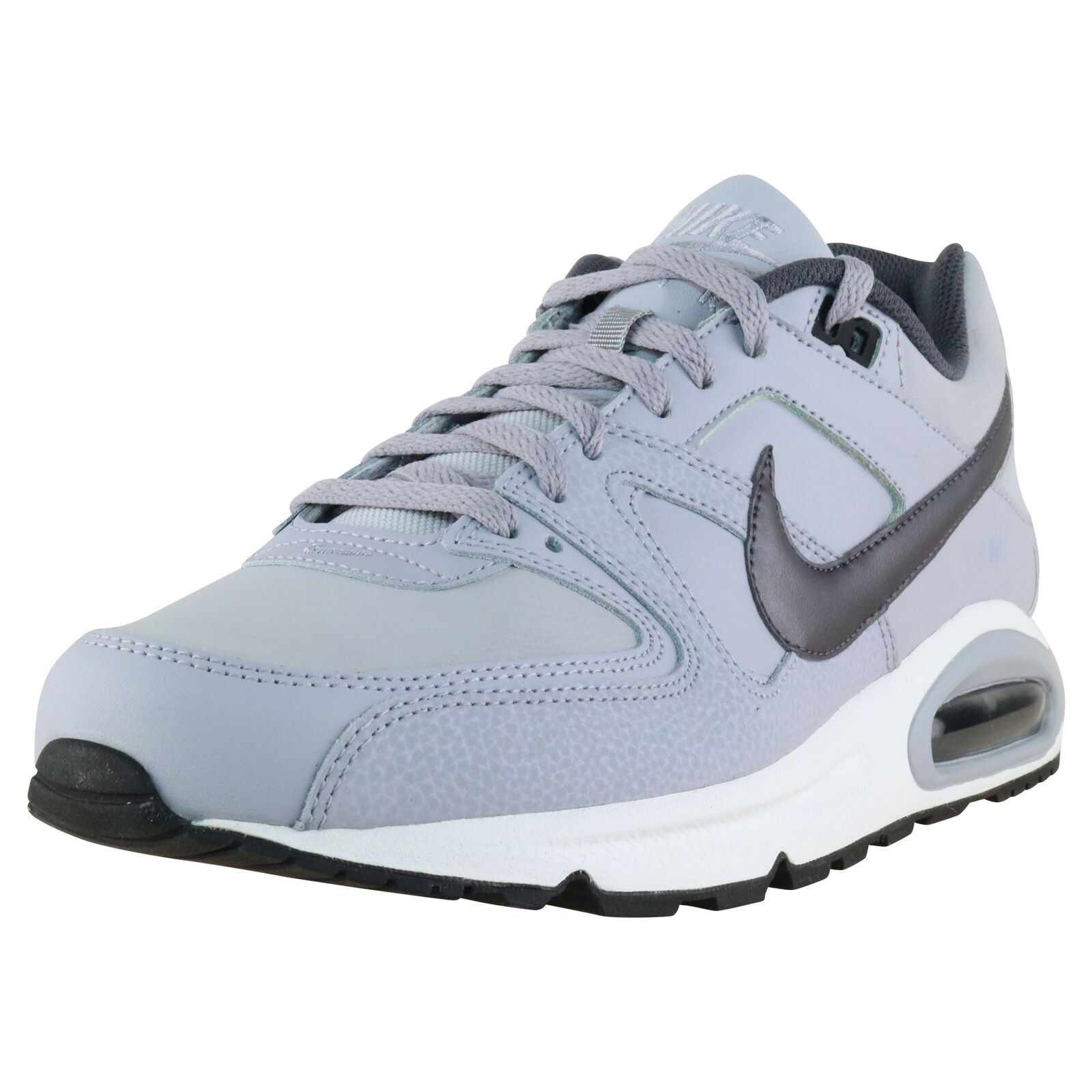 Details about Nike Air Max Command Leather GreyWhite 749760 012