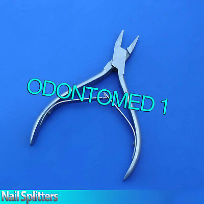 10 English Anvil Pattern Nail Splitter Dermatology Podiatry Surgical Instruments