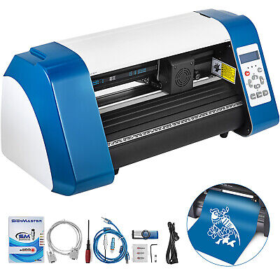 Vinyl Cutter Plotter Cutting 14 Sign Maker 3 Blades Usb Port Contour Cut New