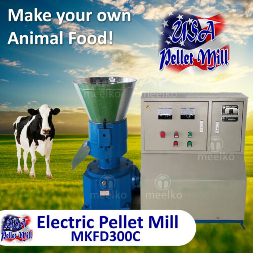 Electric Pellet Mill For Cow
