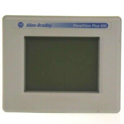Allen Bradley 2711p-t6m20d C Panelview Plus 600