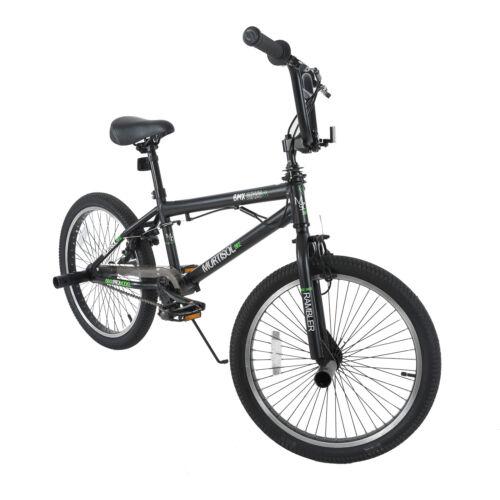 "20"" Boys FreeStyle BMX Bike Bicycles Sports Antiskid Tire Green & Black"