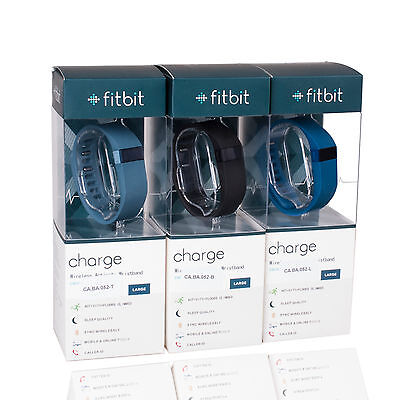 New Fitbit Charge Wireless  Fitness Tracker Bracelet