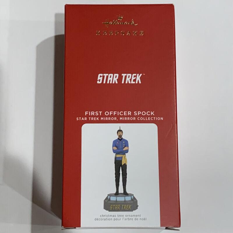 2021 Hallmark Star Trek First Officer Spock Storytellers Ornament Free Shipping