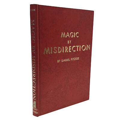 1975 Magic by Misdirection Dariel Fitzkee PSYCHOLOGY OF DECEPTION Magic Limited