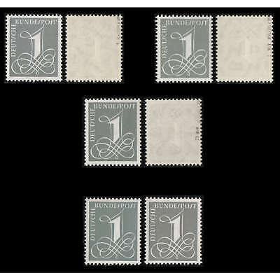 BRD Bund Nr.226x/226y/285X/285YI+II postfrisch ** geprüft und signiert Schlegel