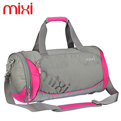 "Mixi Messenger Bag Duffel Bag Gym Sports Pack Travel Daypack 18"" Luggage Bag"
