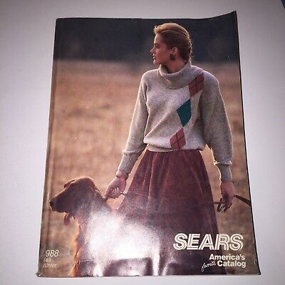 SEARS Fall Winter 1988 Catalog Book Sears