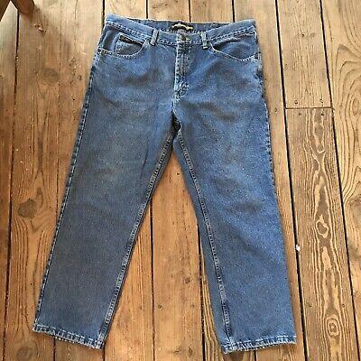 4Wards Jeans W30 L34 NEU Herren Blau Used Stone Denim Hose Straight Regular Fit
