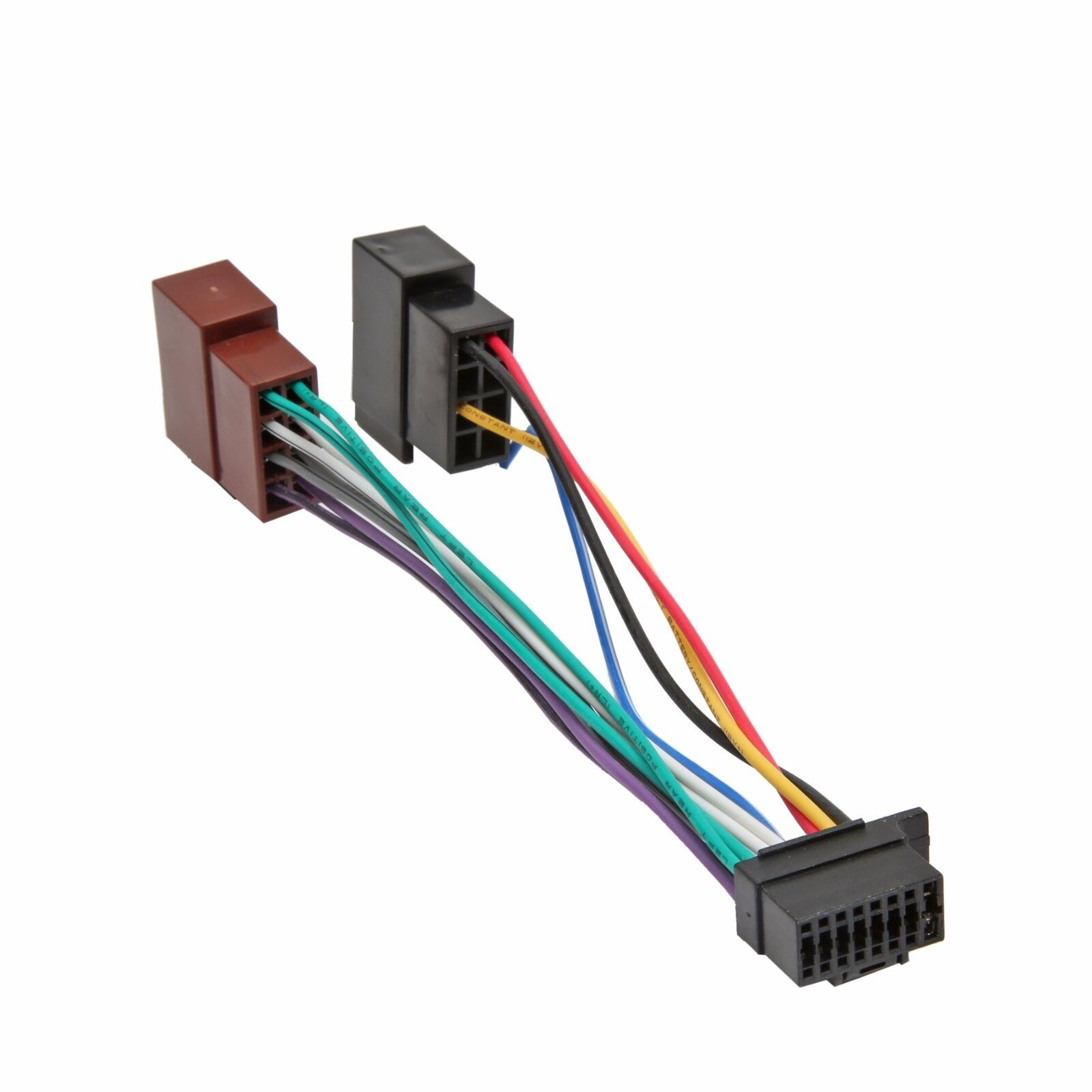 Sony Car Stereo Radio 16 Pin Wiring Wire Plug Harness Ebay Fileelectret Condenser Microphone Schematicpng Wikimedia Commons Iso Connector Adaptor Rh Com