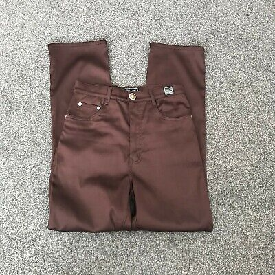VERSACE JEANS COUTURE BROWN JEANS WOMEN'S (B22) SIZE 26 WAIST