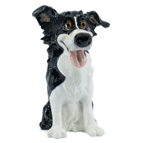 "Pets w/ Personality Glen Border Collie Dog Figurine Statue 9.25"" High New!"