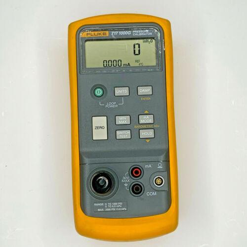 Fluke 717-1000g Pressure Calibtator - Calibrated