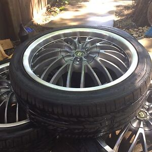 17 Rims and Tires for Sale