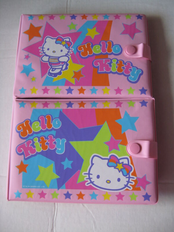 Sanrio Hello Kitty 3-IN-1 BEST FRIENDS FILE RSG KT Collectible 1976-2004 NEW
