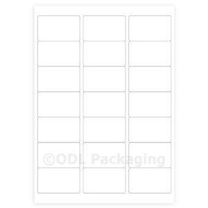 105-White-Address-Labels-21-per-A4-Sheet-Laser-Inkjet