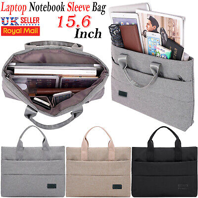 "15.6"" inch Laptop Hand Case Sleeve Bag For DELL Sony Acer Asus Samsung Notebook"