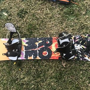 Snowboard Rome 157cm with Flow bindings Bar Beach Newcastle Area Preview