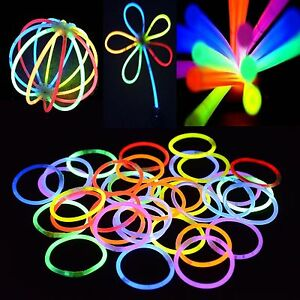 1000-mixed-Color-Glow-Sticks-Light-Bracelets-Disco-Party-Bulk-Glow-in-the-dark